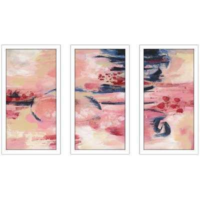 'Sakura II' Multi-Piece Image Acrylic Painting Print - Wayfair