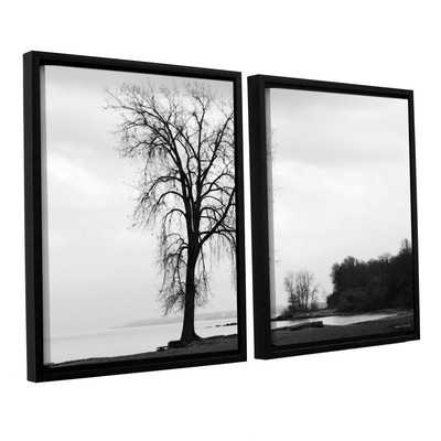 Im Right on The Edge by Lora Mosier 2 Piece Framed Photographic Print on Canvas Set - Wayfair