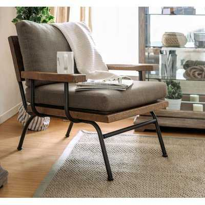 Dishon Rustic Armchair - Wayfair