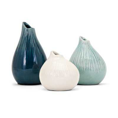 Preston 3 Piece Table Vase Set - Wayfair