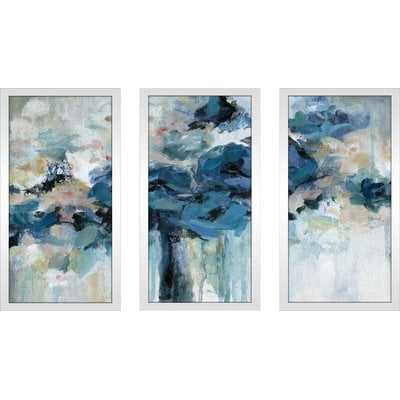 'Midnight Splash' Acrylic Painting Print Multi-Piece Image - Wayfair