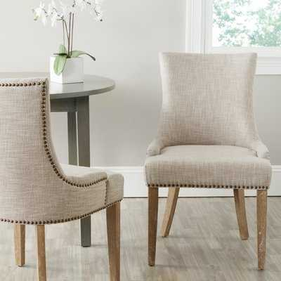Janet Upholstered Dining Chair- set of 2 - Birch Lane