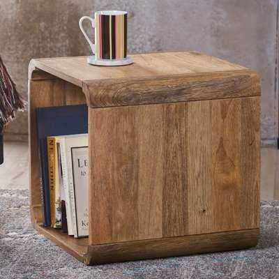 Mediouna Wood End Table - Wayfair
