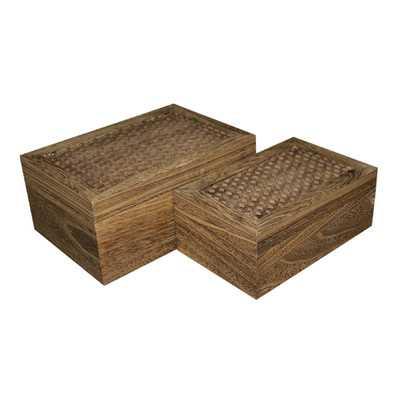 Storage Box Set (Set of 2) - Wayfair