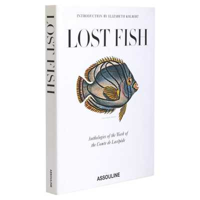 Lost Fish Assouline Hardcover Book - Kathy Kuo Home
