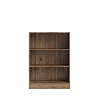 Vernice Short 3 Shelf Standard Bookcase - Wayfair