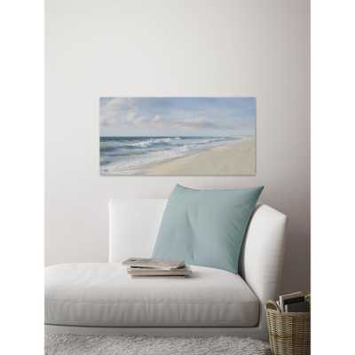 """30 in. H x 60 in. W """"Hamptons II"""" by Marmont Hill Canvas Wall Art, Multi-Colored - Home Depot"""