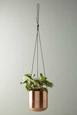 Copper Hanging Planter - Anthropologie