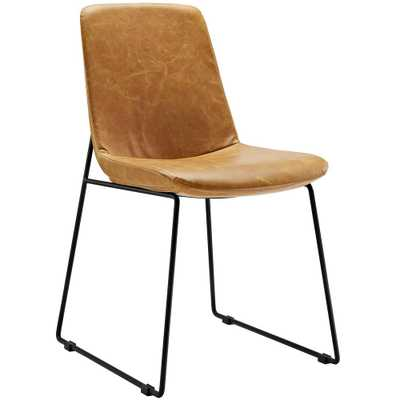 Invite Tan Dining Side Chair - Home Depot