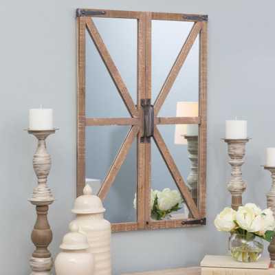 Walker Farmhouse Wall Mirror - Home Depot