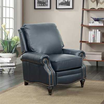 Midbury Leather Manual Recliner - Birch Lane