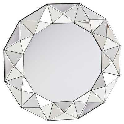 Trester Decorative Mirror - Mirrored - Aiden Lane, Silver - Target