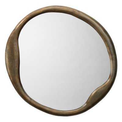 Biddle Organic Wall Mounted Accent Mirror - Wayfair