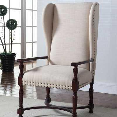 Langhorne Wingback Chair - Wayfair