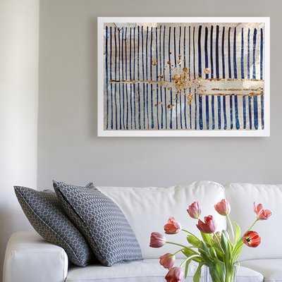 'Love Force Field' Framed Graphic Art Print on Canvas - Wayfair