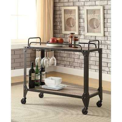Crompton Industrial Bar Cart - Birch Lane