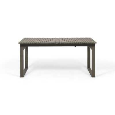 Bonnet Extendable Wooden Dining Table - Wayfair