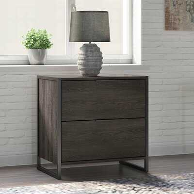 Quiroz 2 Drawer Lateral Filing Cabinet - Wayfair