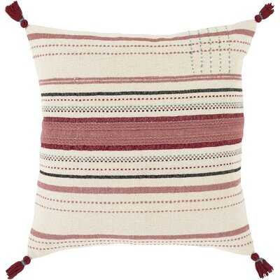 Whittiker Striped Throw Pillow - Birch Lane