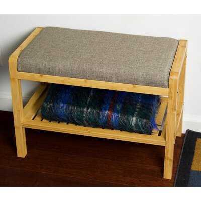 Patty Upholstered Bench - Wayfair