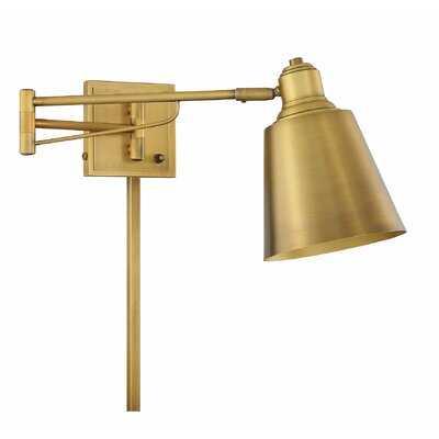 Lingle 1-Light Plug-In Swing Arm - Birch Lane