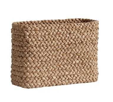 Beachcomber Console Basket - Pottery Barn