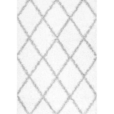 Colona White/Gray Area Rug - Wayfair