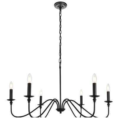Hamza 6-Light Candle Style Chandelier - Birch Lane