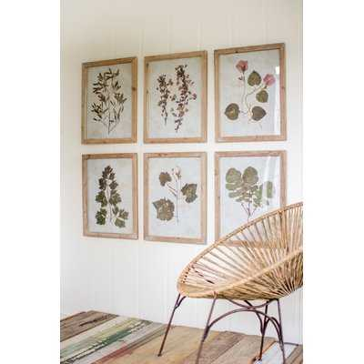 4 Piece Picture Frame Panoramic Graphic Art Set - Birch Lane