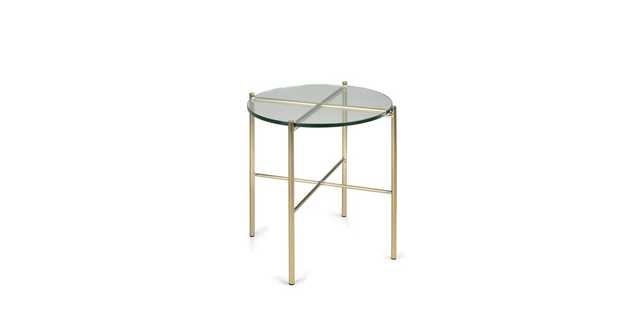 Silicus Clear Side Table - Article