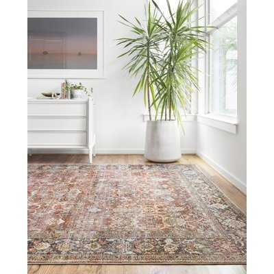 Wicksham Spice/Marine Area Rug - Wayfair