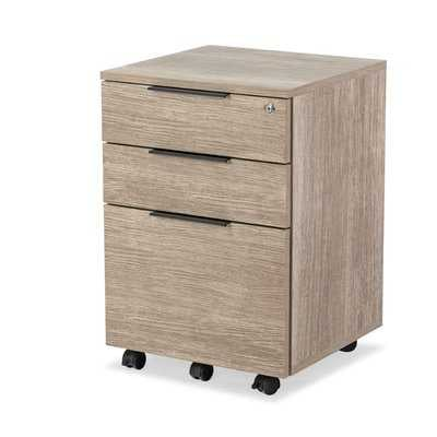 Albin 3-Drawer Mobile Vertical Filing Cabinet - Wayfair