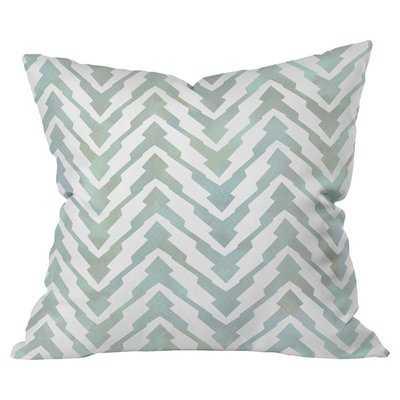 Pastel Zigzag Outdoor Throw Pillow - Wayfair