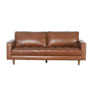 Drumheller Leather Sofa - AllModern