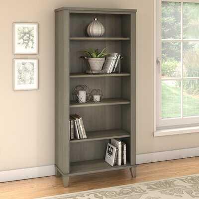 Kirchoff 5 Shelf Standard Bookcase Wayfair