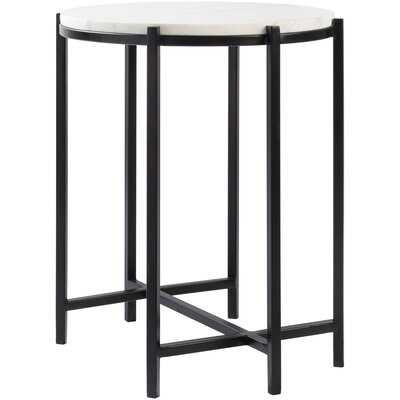 Barrona Modern Black End Table - Wayfair