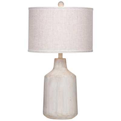Dalton Natural Cement Table Lamp - Style # 58K88 - Lamps Plus