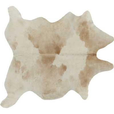 Light Tan Cowhide Rug 4'x6' - CB2