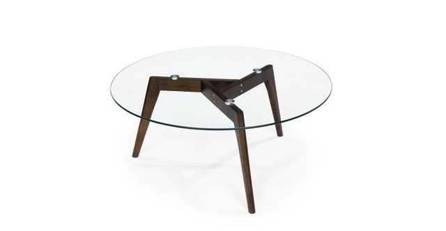 Clarus Walnut Coffee Table - Article