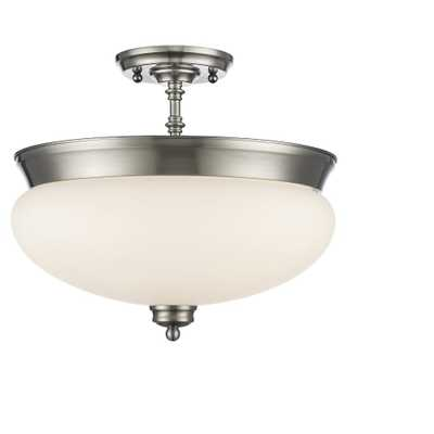 Semi Flush Mount Ceiling Lights with Matte Opal Glass (Set of 3) - Z-Lite - Target