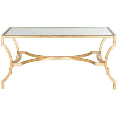 Alphonse Gold Coffee Table - Home Depot