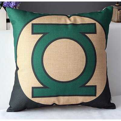 SuperHeroes Lantern Cotton Throw Pillow - Wayfair