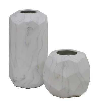 2 Piece Table Vase Set - Wayfair