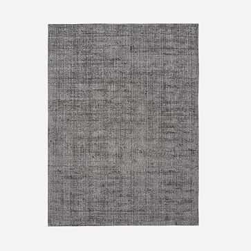 Patina Rug, Asphalt, 9'x12' - West Elm