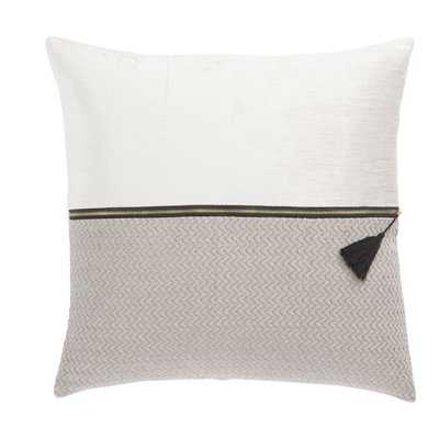 Living Kirat Textured Throw Pillow - Wayfair