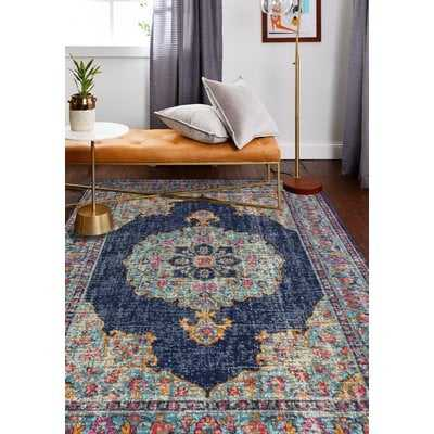 Ashburn Dark Blue Area Rug - AllModern