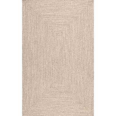 Bromsgrove Hand-Braided Tan Indoor/Outdoor Area Rug - Wayfair