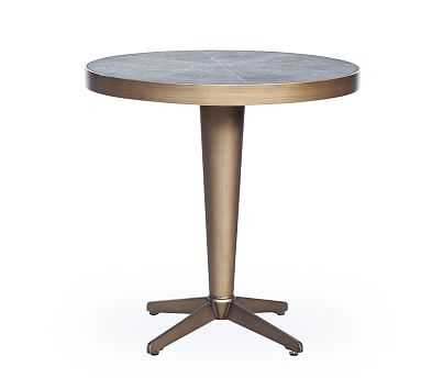 Sillers Shagreen Side Table - Pottery Barn