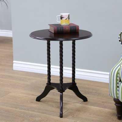 Harlen Pedestal End Table - Wayfair
