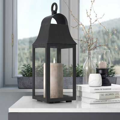 Outdoor Glass and Metal Lantern - Birch Lane